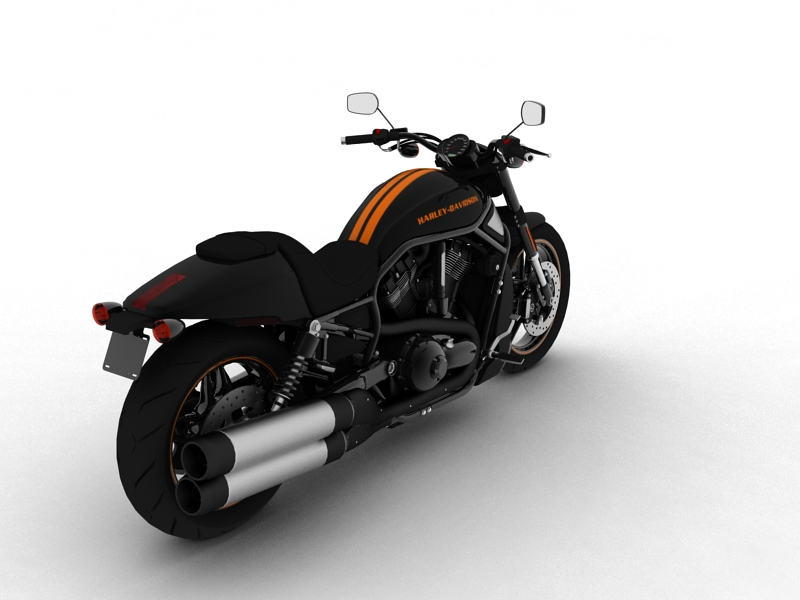 harley-davidson v-rod night rod special 2013 3d model 3ds max dxf fbx c4d obj 155812