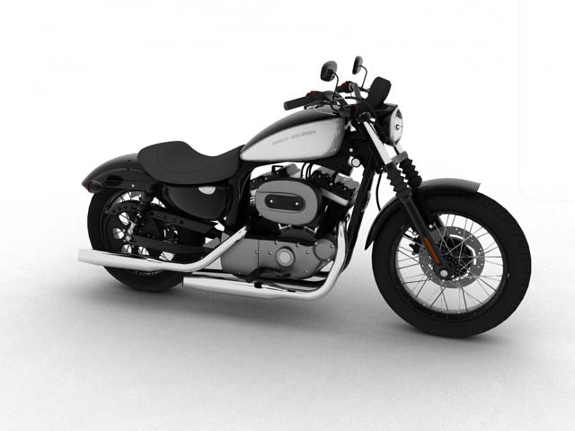 harley-davidson xl1200 sportster nightster 2012 3d model 3ds max fbx c4d obj 155067