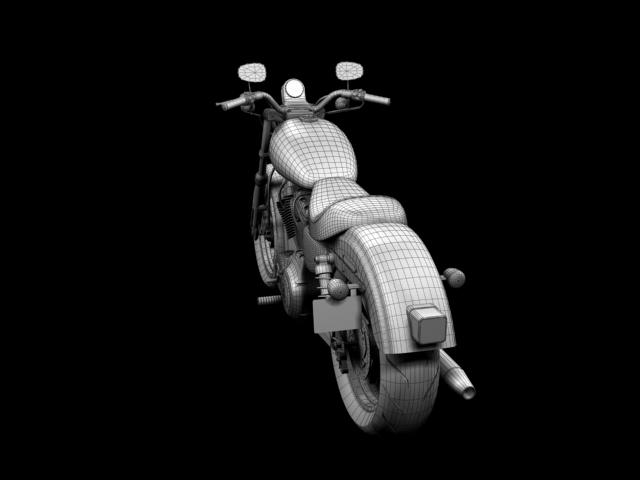 harley-davidson xl1200 sportster superlow 2013 3d model 3ds max fbx c4d obj 155139