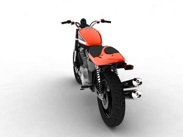 harley-davidson xr1200 2012 model 3d 3ds max c4d obj 148069