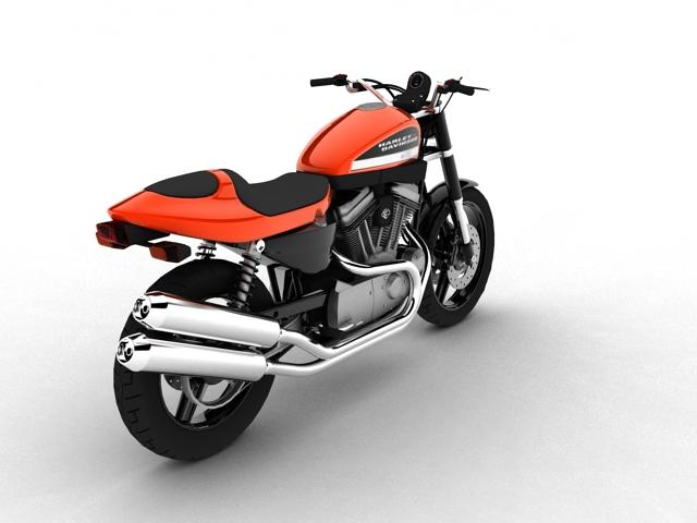 harley-davidson xr1200 2012 model 3d 3ds max c4d obj 148070