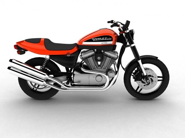 harley-davidson xr1200 2012 model 3d 3ds max c4d obj 148071