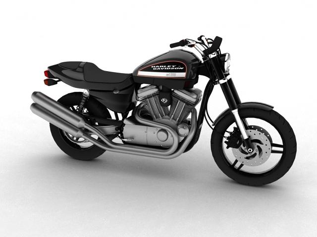 harley-davidson xr1200 2012 model 3d 3ds max c4d obj 148073