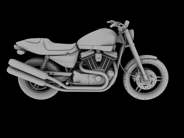 harley-davidson xr1200 2012 model 3d 3ds max c4d obj 148075