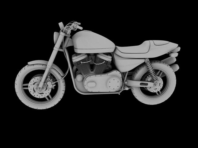 harley-davidson xr1200 2012 model 3d 3ds max c4d obj 148080