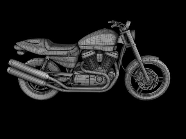 harley-davidson xr1200 2012 model 3d 3ds max c4d obj 148083