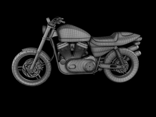 harley-davidson xr1200 2012 model 3d 3ds max c4d obj 148086
