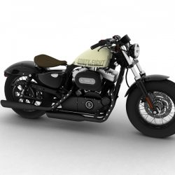 Harley-Davidson XL1200 Sportster Forty-Eight 2014 ( 195.43KB jpg by gonzo_3d )