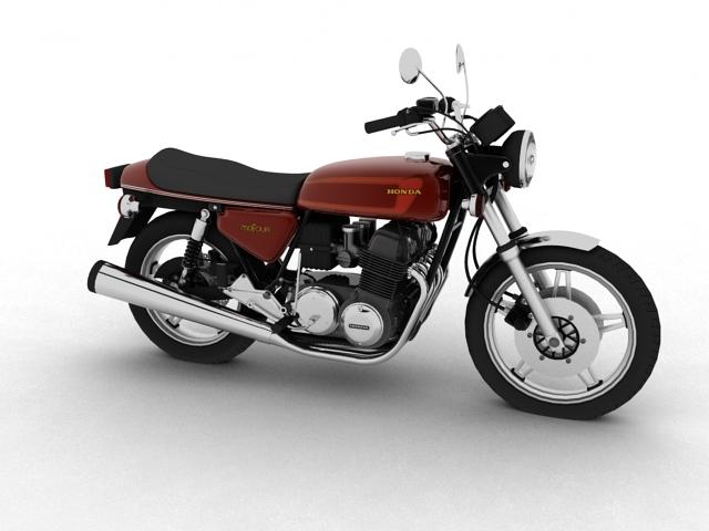 honda cb750 f2 1978 3d model 3ds max fbx c4d obj 154541