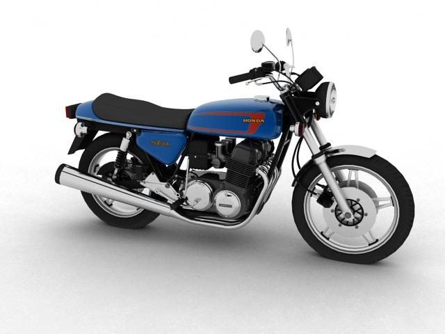 honda cb750 f2 1978 3d model 3ds max fbx c4d obj 154543