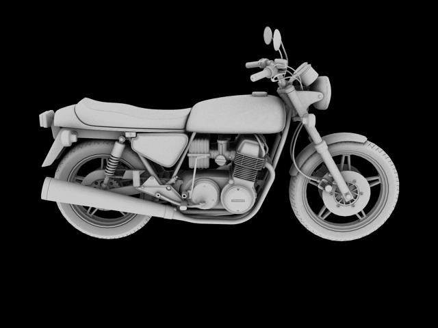 honda cb750 f2 1978 3d model 3ds max fbx c4d obj 154553