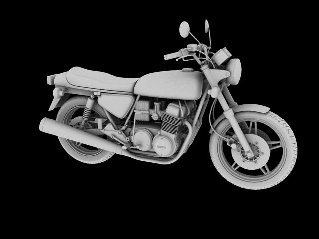 honda cb750 f2 1978 3d model 3ds max fbx c4d obj 154554