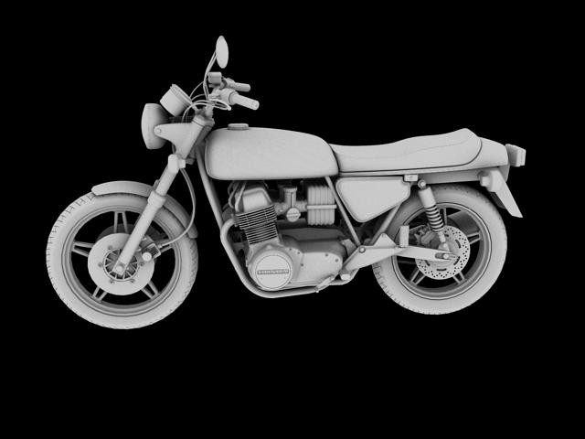 honda cb750 f2 1978 3d model 3ds max fbx c4d obj 154556
