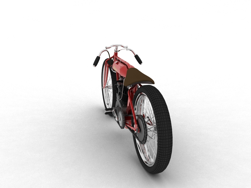 indian boardtrack racer 1920 3d model 3ds max dxf fbx c4d obj 156032