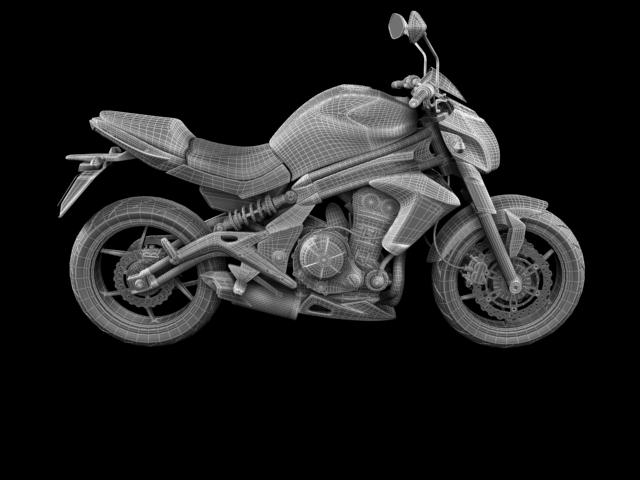 kawasaki er-6n 2012 3d model 3ds max fbx c4d obj 154632