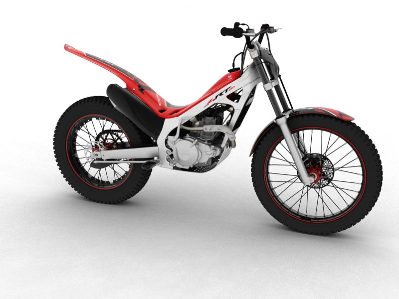 montesa cota 4rt 260 2014 model 3d 3ds max dxf fbx c4d obj 161232