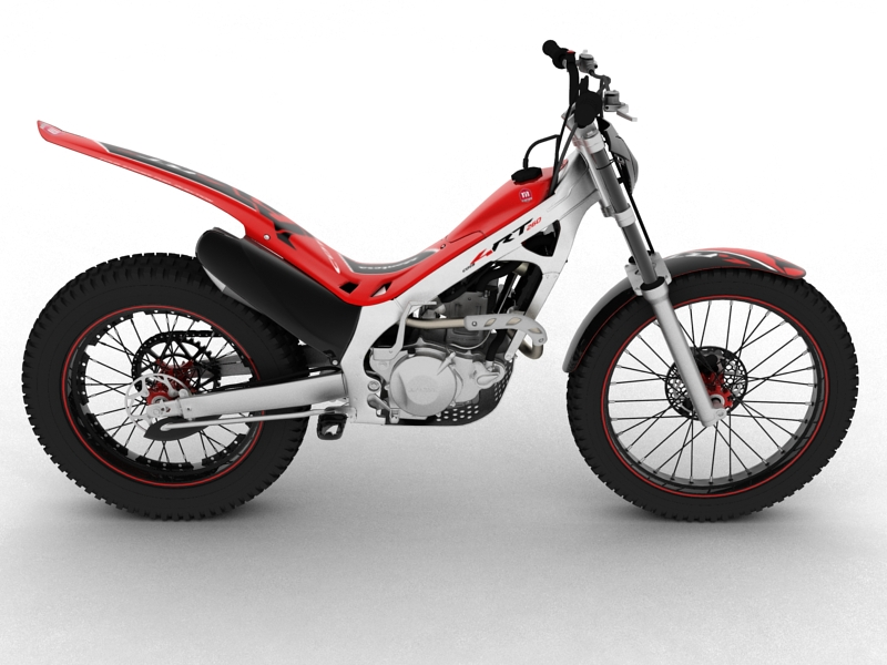 montesa cota 4rt 260 2014 3d model 3ds max dxf fbx c4d obj 161233