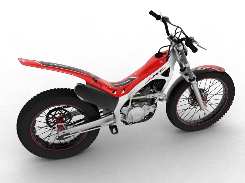 montesa cota 4rt 260 2014 3d model 3ds max dxf fbx c4d obj 161234