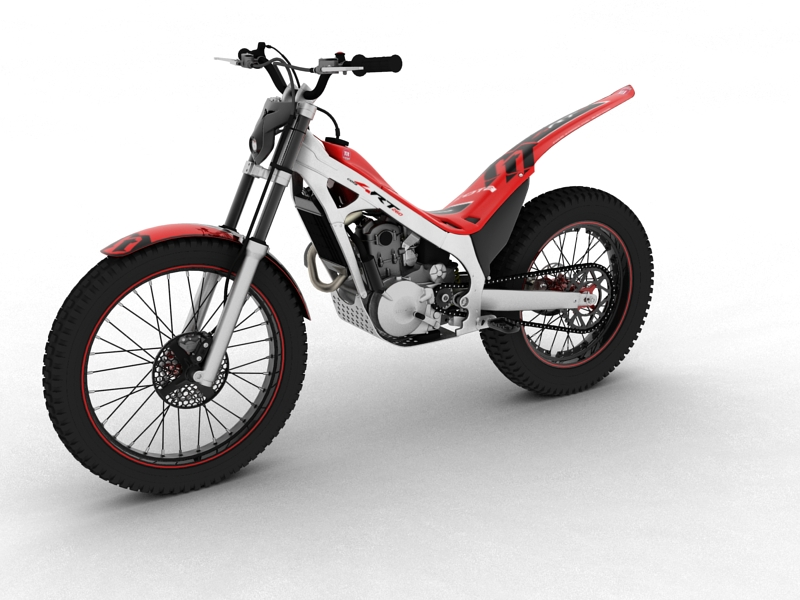 montesa cota 4rt 260 2014 3d model 3ds max dxf fbx c4d obj 161236