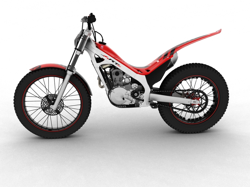 montesa cota 4rt 260 2014 3d model 3ds max dxf fbx c4d obj 161237