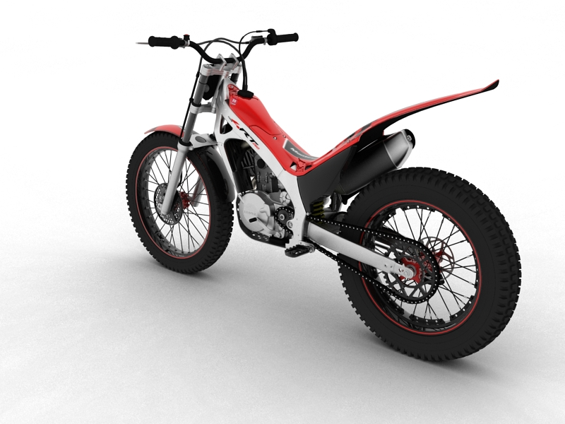 montesa cota 4rt 260 2014 3d model 3ds max dxf fbx c4d obj 161238