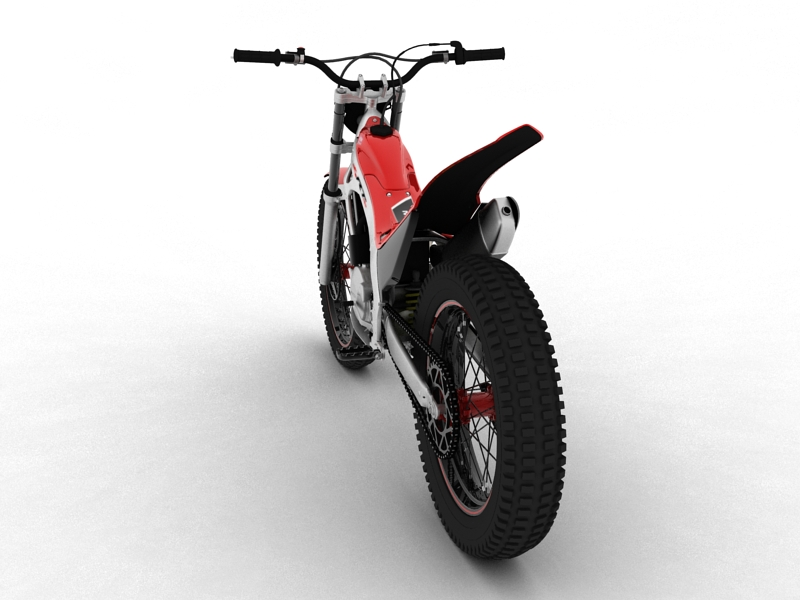 montesa cota 4rt 260 2014 3d model 3ds max dxf fbx c4d obj 161239