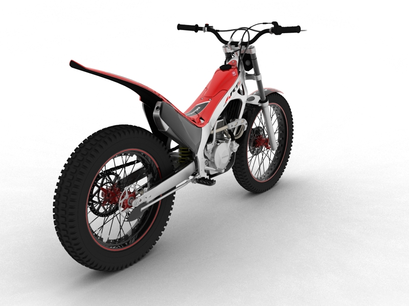 montesa cota 4rt 260 2014 3d model 3ds max dxf fbx c4d obj 161240