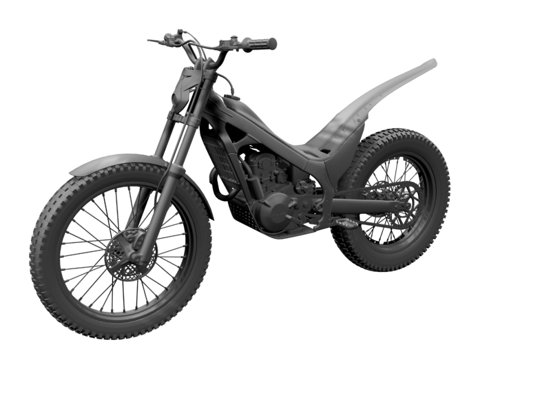 montesa cota 4rt 260 2014 3d model 3ds max dxf fbx c4d obj 161242