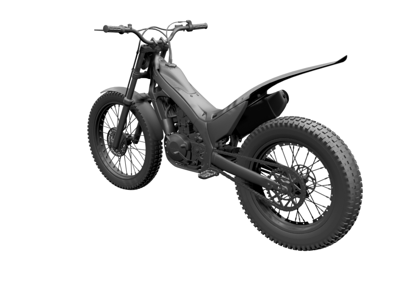 montesa cota 4rt 260 2014 3d model 3ds max dxf fbx c4d obj 161244