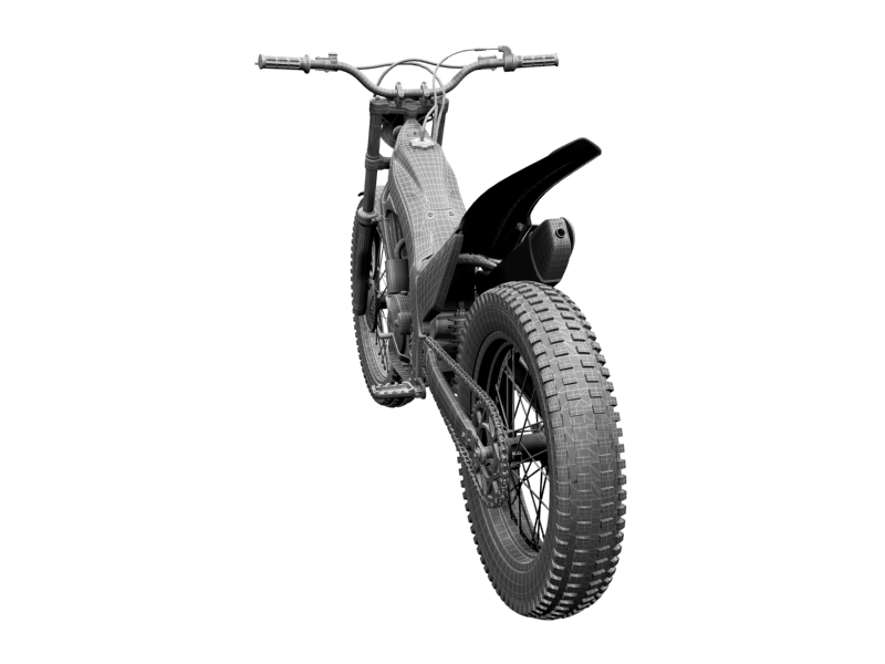 montesa cota 4rt 260 2014 3d model 3ds max dxf fbx c4d obj 161252