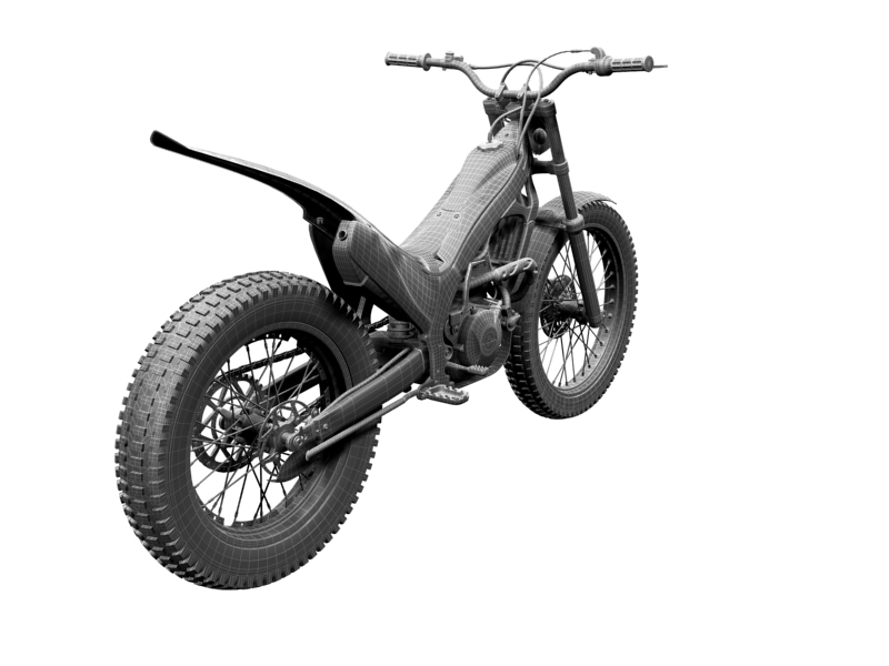 montesa cota 4rt 260 2014 3d model 3ds max dxf fbx c4d obj 161253
