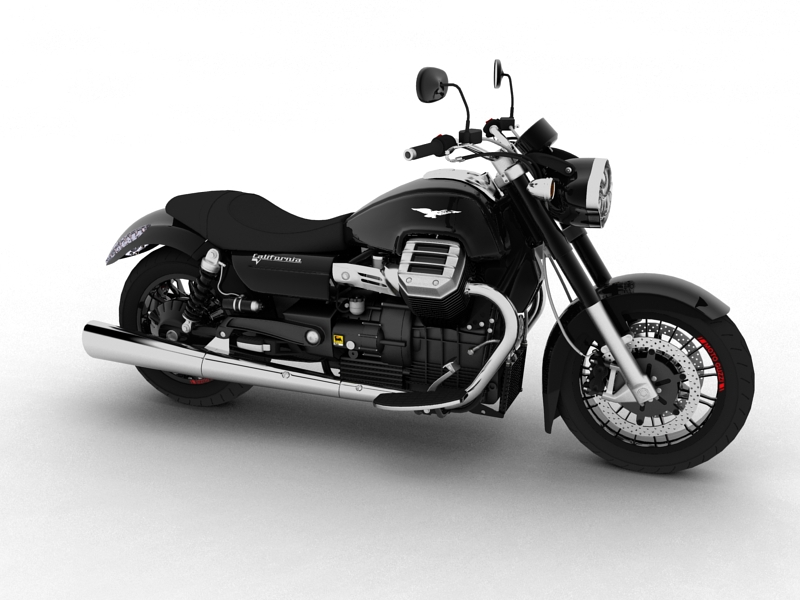 moto guzzi 1400 california custom 2013 3d model 3ds max dxf fbx c4d obj 155730