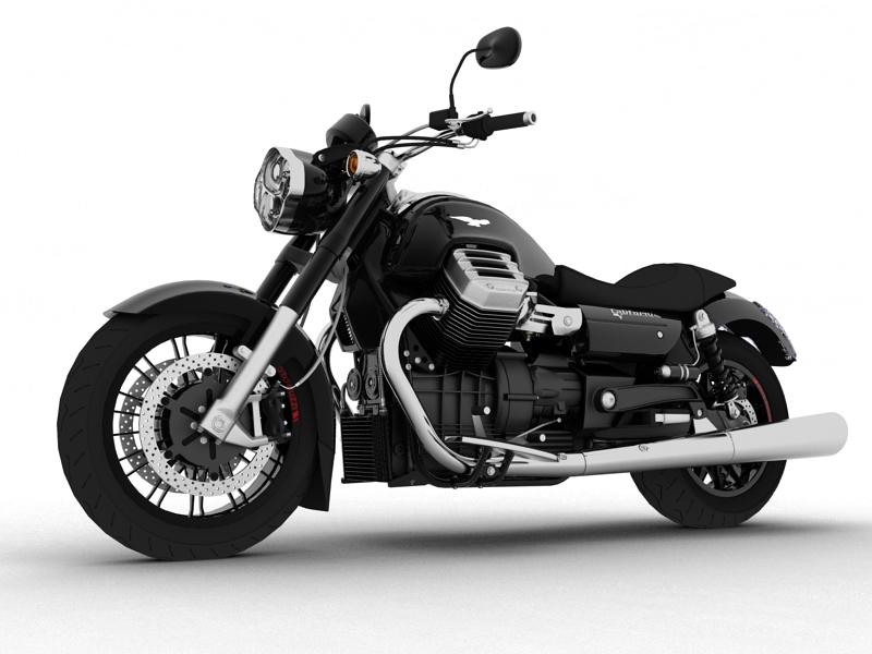 moto guzzi 1400 california arfer 2013 model 3d 3ds max dxf fbx c4d obj 155731