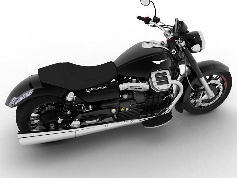 moto guzzi 1400 california arfer 2013 model 3d 3ds max dxf fbx c4d obj 155732