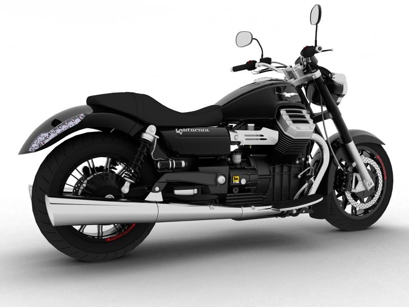 moto guzzi 1400 california arfer 2013 model 3d 3ds max dxf fbx c4d obj 155733