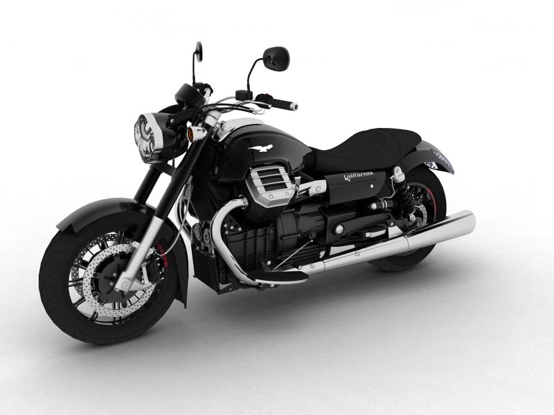 moto guzzi 1400 california arfer 2013 model 3d 3ds max dxf fbx c4d obj 155734