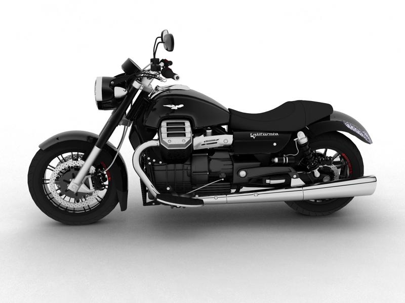 moto guzzi 1400 california arfer 2013 model 3d 3ds max dxf fbx c4d obj 155735