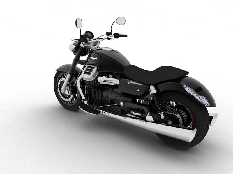 moto guzzi 1400 california arfer 2013 model 3d 3ds max dxf fbx c4d obj 155736