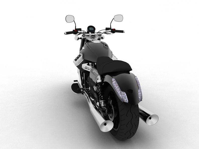 moto guzzi 1400 california arfer 2013 model 3d 3ds max dxf fbx c4d obj 155737