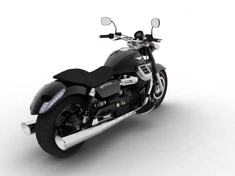 moto guzzi 1400 california arfer 2013 model 3d 3ds max dxf fbx c4d obj 155738