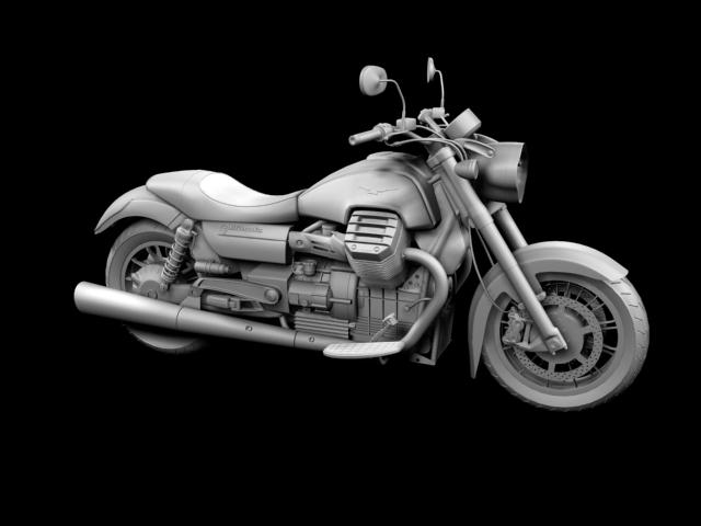 moto guzzi 1400 california arfer 2013 model 3d 3ds max dxf fbx c4d obj 155740