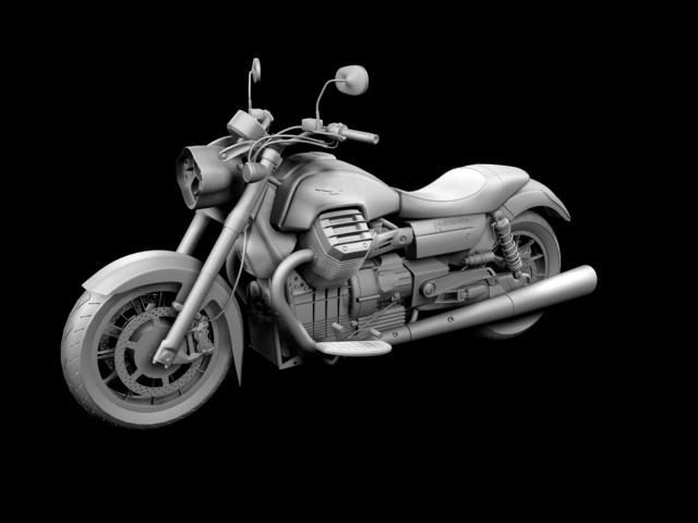 moto guzzi 1400 california arfer 2013 model 3d 3ds max dxf fbx c4d obj 155741