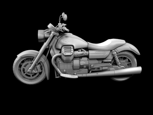 moto guzzi 1400 california arfer 2013 model 3d 3ds max dxf fbx c4d obj 155742