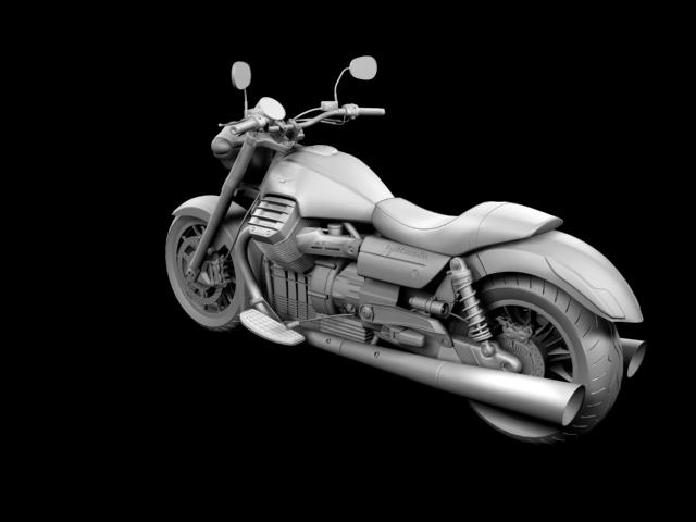 moto guzzi 1400 california arfer 2013 model 3d 3ds max dxf fbx c4d obj 155743