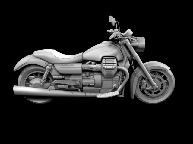 moto guzzi 1400 california arfer 2013 model 3d 3ds max dxf fbx c4d obj 155746