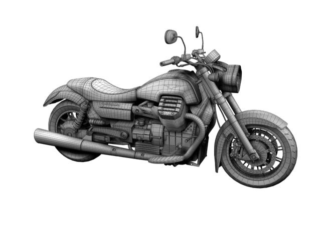 moto guzzi 1400 california arfer 2013 model 3d 3ds max dxf fbx c4d obj 155747
