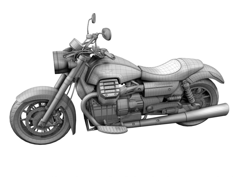 moto guzzi 1400 california arfer 2013 model 3d 3ds max dxf fbx c4d obj 155748