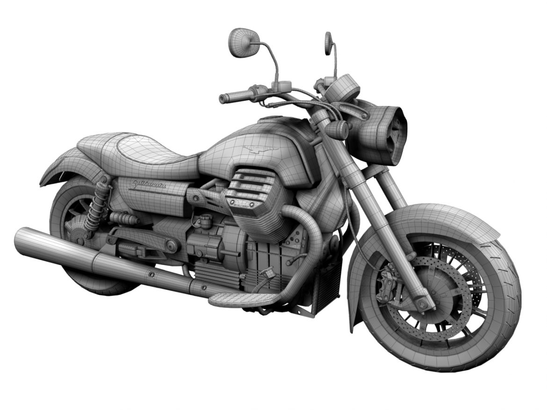 moto guzzi 1400 california arfer 2013 model 3d 3ds max dxf fbx c4d obj 155749