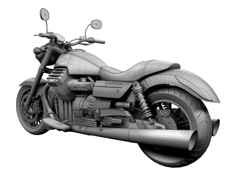moto guzzi 1400 california arfer 2013 model 3d 3ds max dxf fbx c4d obj 155750