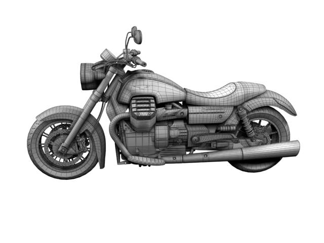 moto guzzi 1400 california arfer 2013 model 3d 3ds max dxf fbx c4d obj 155752
